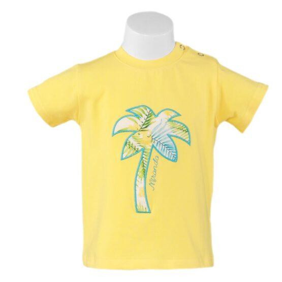 Tricou galben pentru băieței