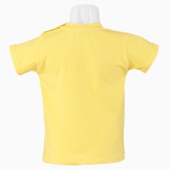 Tricou galben pentru băieți